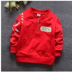 เสื้อ สีแดง แพ็ค 4ชุด ไซส์ S-M-L-XL