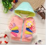 เสื้อกันหนาว สีชมพู แพ็ค 4ชุด ไซส์ 100-110-120-130