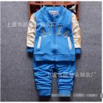 เสื้อ+กางเกง สีน้ำเงิน แพ็ค 4ชุด ไซส์ (เหมาะสำหรับ0-4ขวบ)