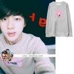 เสื้อแฟชั่นเกาหลี เสื้อกันหนาว BTS JIN