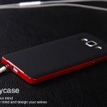 เคส Samsung Galaxy A3 ขอบเคส + ซิลิโคน สีดำเข้มขรึม สวย เงางามมากๆ ราคาถูก