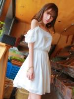 Pre  เดรส YOZI  ZZ032 เสื้อผ้าแฟชั่นเกาหลีราคาถูก