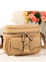 กระเป๋าแฟชั่น Axixi - 104 สี Apricot (พร้อมส่ง)