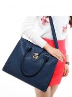 กระเป๋าแฟชั่น Axixi - 186 สี Blue (Free จัดส่ง)