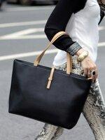 กระเป๋าแฟชั่น Axixi - 014 สีดำ (Free จัดส่ง)