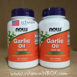 Now Foods, Garlic Oil, 1500 mg, 250 Softgels