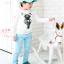 เสื้อ สีขาว แพ็ค 5ชุด ไซส์ 100-110-120-130-140 thumbnail 2