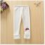 เลคกิ้ง สีขาว แพ็ค 5ชุด ไซส์ 100-110-120-130-140 thumbnail 4