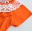 เสื้อ สีส้ม แพ็ค 5ชุด ไซส์ 90-100-110-120-130 thumbnail 7