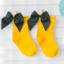 ถุงเท้าสั้น สีเหลือง แพ็ค 12 คู่ ไซส์ M (ประมาณ 3-5 ปี) thumbnail 1