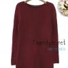 ***หมดค่ะTop013-เสื้อแฟชั่นแขนยาว สีส้แดงเข้ม เสื้อถัก เตรียมพร้อมรับลมหนาว ((เสื้อแฟชั่นพร้อมส่ง))