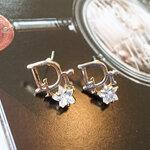 ต่างหูแฟชั่น Dior ติดดาว งานเกาหลีเกรด A