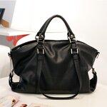 [พร้อมส่ง]กระเป๋า Axixi รหัส AX0056 กระเป๋าแฟชั่นเกาหลี (สีดำ)