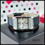 นาฬิกาข้อมือ Gucci สายสีดำ