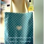 HMLMshop55 : กระเป๋าผ้าแฮนด์เมด ฺMade by Pimwaradda. ค่ะ