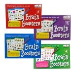 เกมส์พัฒนาทักษะ เพิ่มพลังสมอง ชุดที่ 1-4 (Brain Booster 1-4)