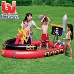 สระเด็กเป่าลมชุดสวนสนุกเรือโจรสลัด ขนาด 190*140*96cm ยี่ห้อ BEST WAY