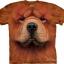 Big Face Chow Chow Dog Face T-Shirts thumbnail 1