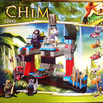 Lego Chima 22042 + มอเตอร์ไซต์ 2 ชุด + การ์ด