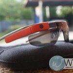 Google Glass สีแดงอมส้ม อุปกรณ์ครบ เป็นล็อตแรกที่ Google เปิดตัวใน USA (GG001) by WhiteMKT
