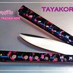 มีดซ้อมควงฮาราจุกุนีโม Harajuku Nemo Balisong Trainer Knife