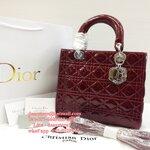 Dior รุ่น Lady [หนังแท้]
