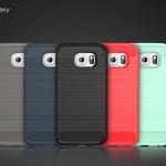 (025-1001)เคสมือถือซัมซุง Case Samsung S6 edge เคสนิ่ม tpu กันกระแทก