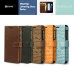 Zenus : Masstige Lettering Diary Cover Case Faux Leather For Blackberry Z10