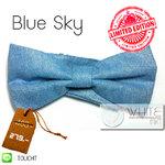Blue Sky : หูกระต่าย สีฟ้า ผ้าเนื้อด้าน Limited Edition (BT171) by WhiteMKT