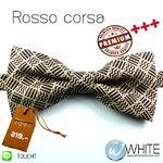 Rosso corsa - หูกระต่าย น้ำตาล ลาย Premium Quality+++ (BT495) by WhiteMKT