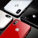 (689-001)เคสมือถือไอโฟน Case iPhone X เคสนิ่มกระจกนิรภัย