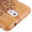 Woodcarving Tree Pattern Detachable Bamboo Material Case เคส Samsung Galaxy Note 3 (III) / N9000 ซัมซุง กาแล็คซี่ โน๊ต 3 thumbnail 4