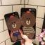 (025-987)เคสมือถือไอโฟน Case iPhone7/iPhone8 เคสนิ่มหมีไลน์ Glitter thumbnail 1