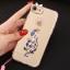 (025-979)เคสมือถือไอโฟน Case iPhone7/iPhone8 เคสนิ่มซิลิโคนใสลายหรูติดคริสตัล พร้อมแหวนเพชรวางโทรศัพท์ และสายคล้องคอถอดแยกสายได้ thumbnail 22