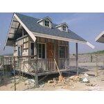 บ้านโมบายสไตล์ตะวันตก ขนาด 4*3 ระเบียง 4*1 กำลังดำเนินการสร้าง