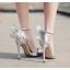 รองเท้าส้นสูง ไซต์ 35-40 สีทอง/ดำ/เงิน thumbnail 9