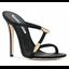 รองเท้าส้นสูงแบบสวมสวยเก๋สีดำ ไซต์ 34-39 thumbnail 6