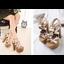 รองเท้าส้นสูง ไซต์ 34-38 สีดำ/แชมเปน thumbnail 5