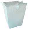 ตะกร้าสานพลาสติก กระเป๋าสานพลาสติก   TTFS-White    กว้าง 30 cm. ยาว 30 cm.  สูง 39 cm.