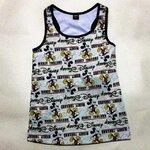 เสื้อกล้ามทอมสีเทามิกกี้เม้าสท์ ( L )