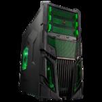 Case Tsunami Ghost Black Green