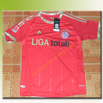เสื้อทีมเหย้า Baryern 2012 - 2013 (LIGA TOTAL)