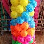 ลูกบอล ถุงตาข่าย(100 ลูก)