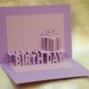 การ์ดป๊อปอัพ Happy Birthday