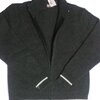 Knitted thin jacket (with front zip)