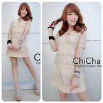Chilla Line Lace Dress