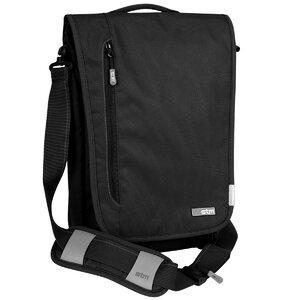 STM - Linear Medium Laptop Shoulder Bag สีดำ