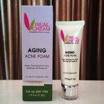 Aging Acne Foam (โฟมล้างหน้าปัญหาสิว อุดตัน หนอง อักเสบ)