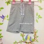 กางเกงเด็กผ้านิ่มสีเทา H&M ไซส์ 104,110