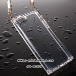 Luxury ICE CUBE Transparent with Chain Case Cover For iPhone 5S/5